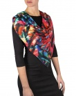 Carre de soie MARY abstract paint femme