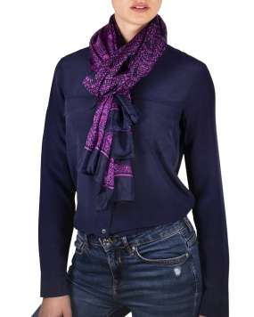 Foulard soie MAIA scale pink femme